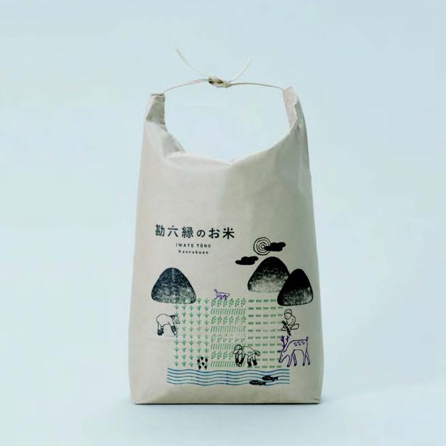 勘六縁のお米のブランディング/AD:佐々木崇